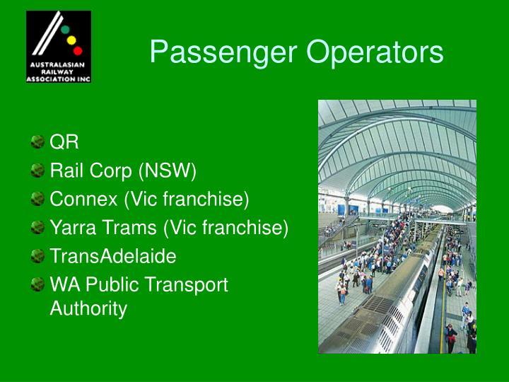 Passenger Operators
