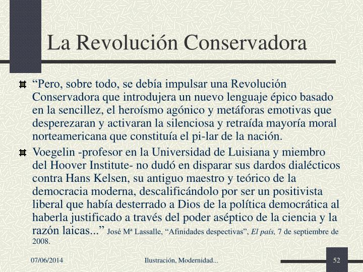 La Revolucin Conservadora