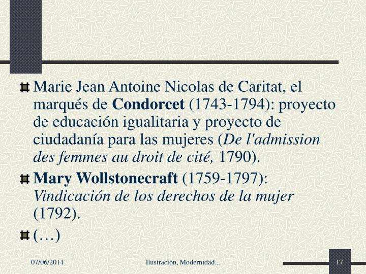Marie Jean Antoine Nicolas de Caritat,