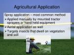 agricultural application