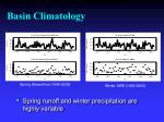 basin climatology1