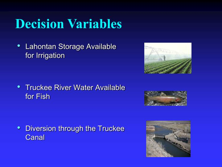 Lahontan Storage Available for Irrigation