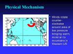 physical mechanism