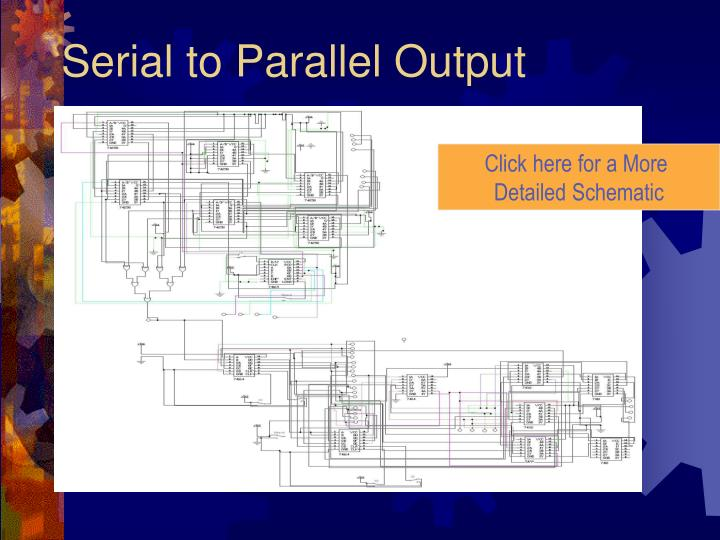 Serial to Parallel Output