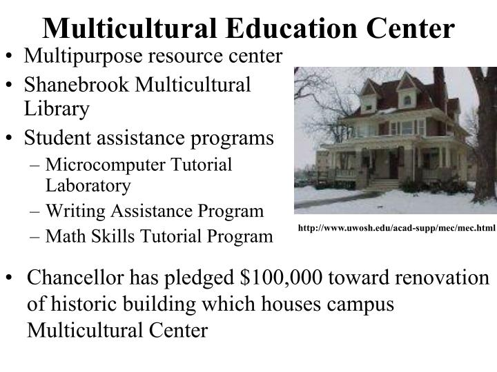 Multicultural Education Center