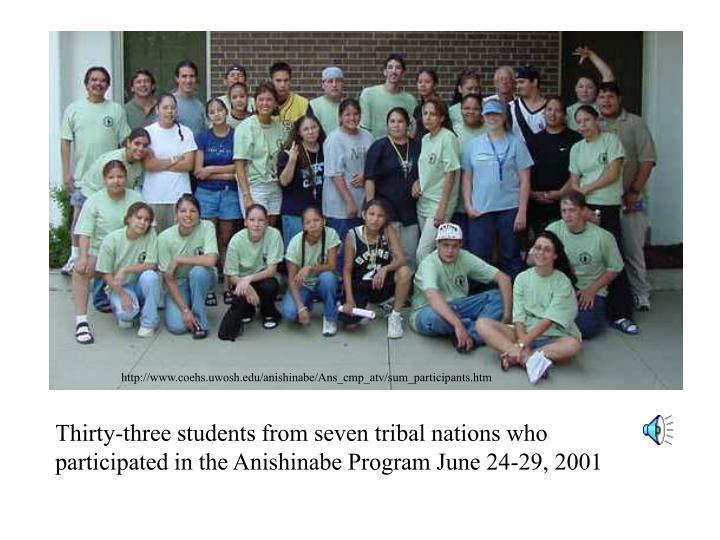 http://www.coehs.uwosh.edu/anishinabe/Ans_cmp_atv/sum_participants.htm