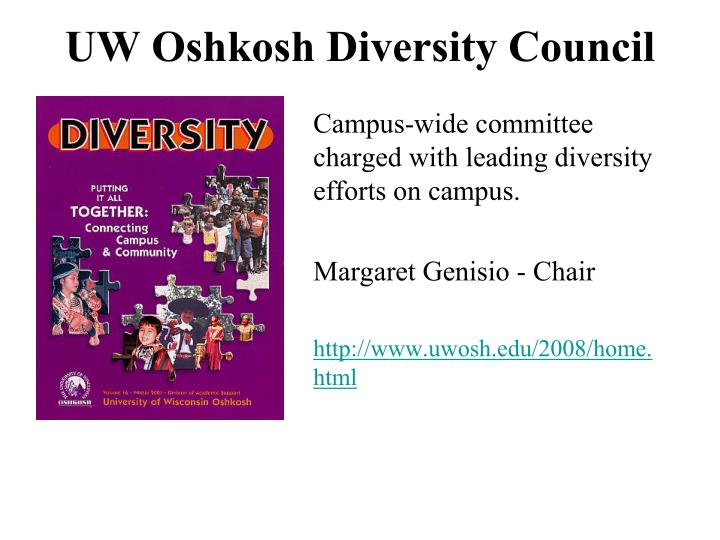 UW Oshkosh Diversity Council