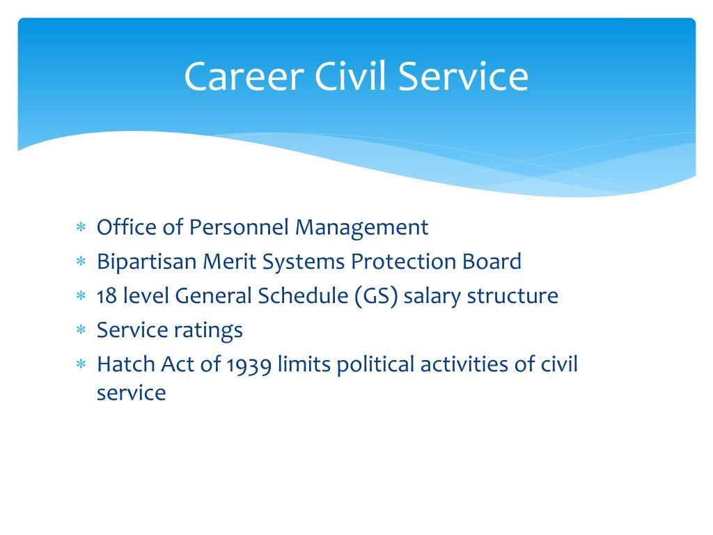 Career Civil Service