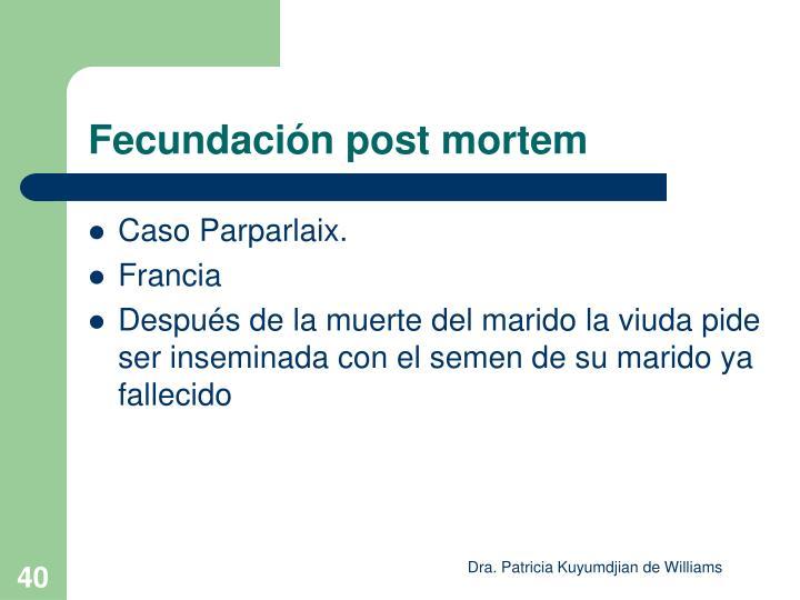 Caso Parparlaix.