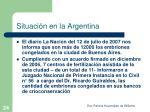 situaci n en la argentina