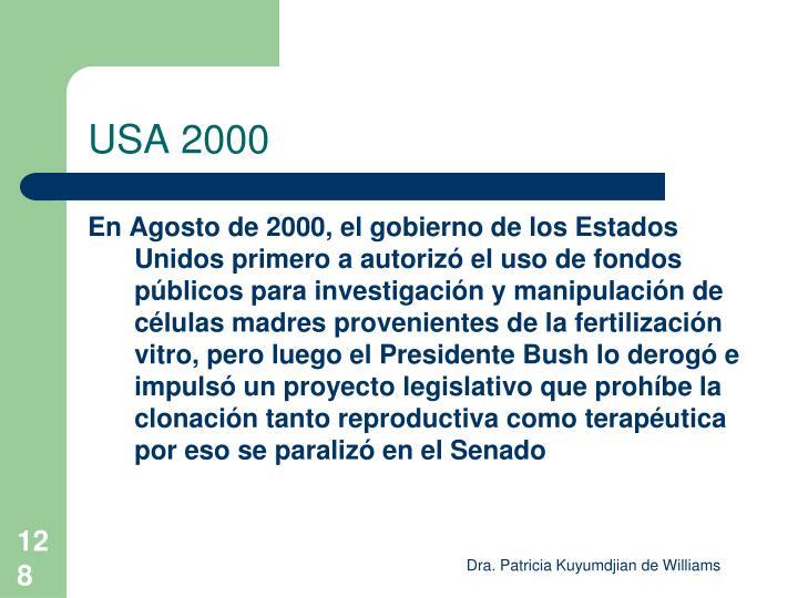 USA 2000