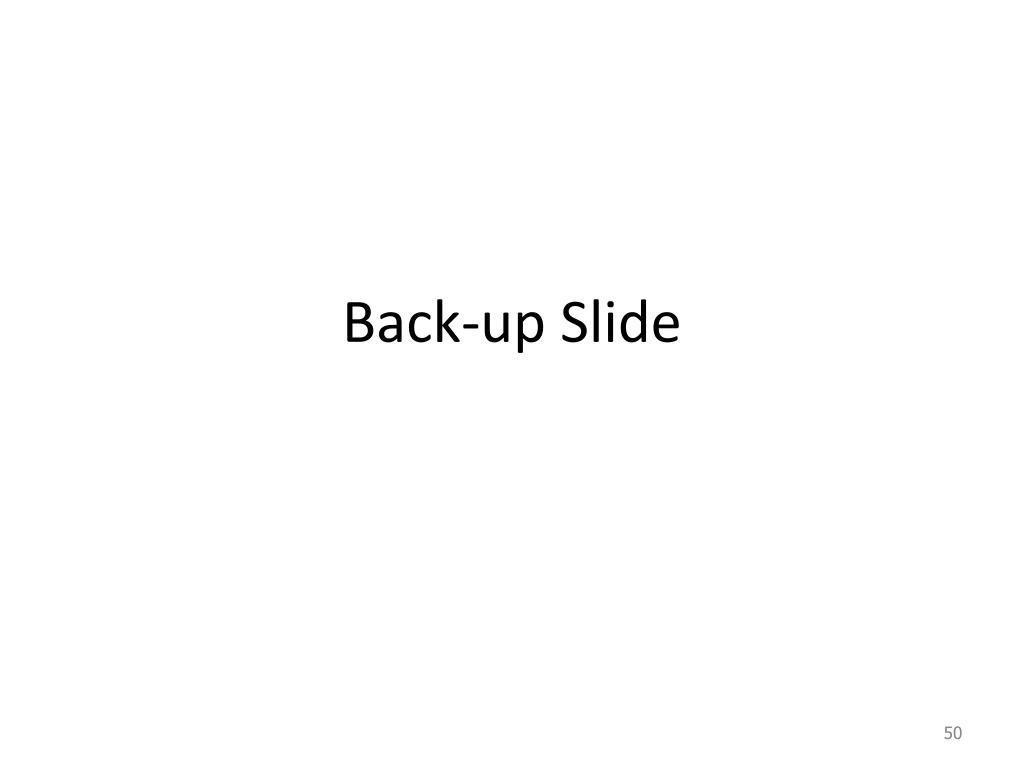 Back-up Slide
