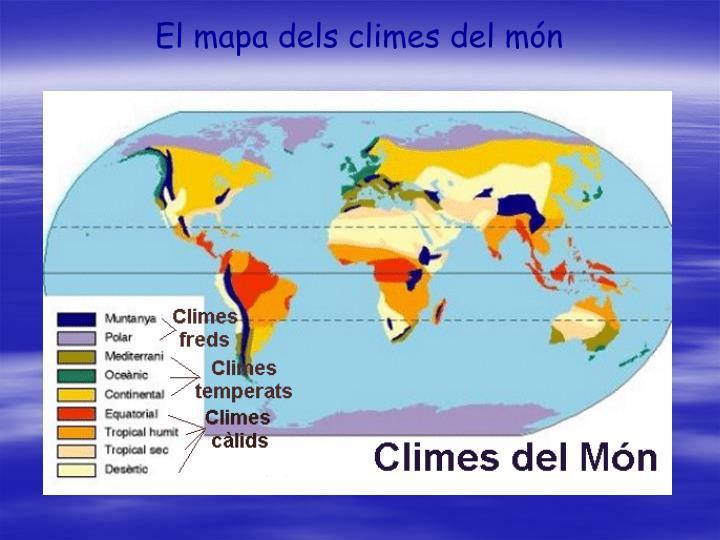 El mapa dels climes del món