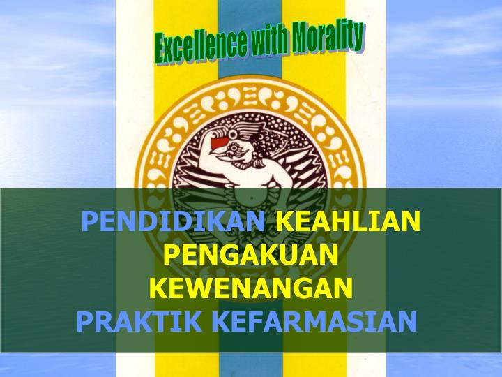 Excellence with Morality