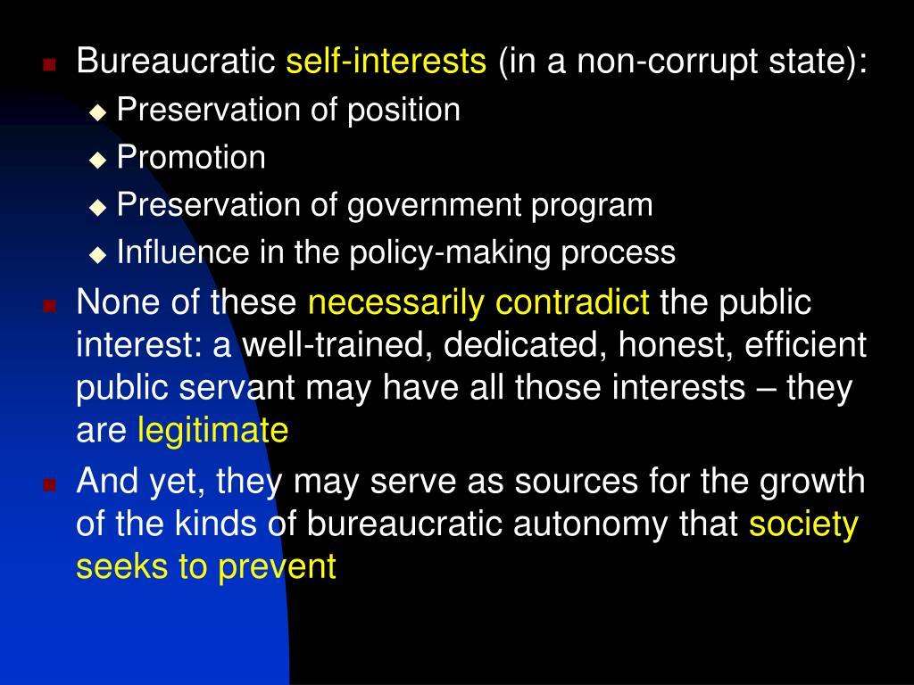Bureaucratic