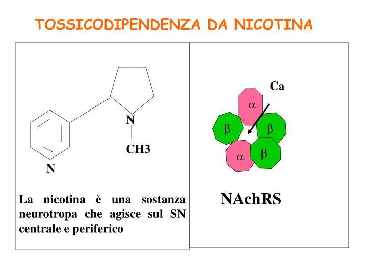 TOSSICODIPENDENZA DA NICOTINA