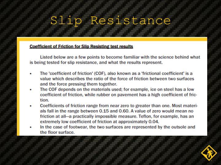 Slip Resistance