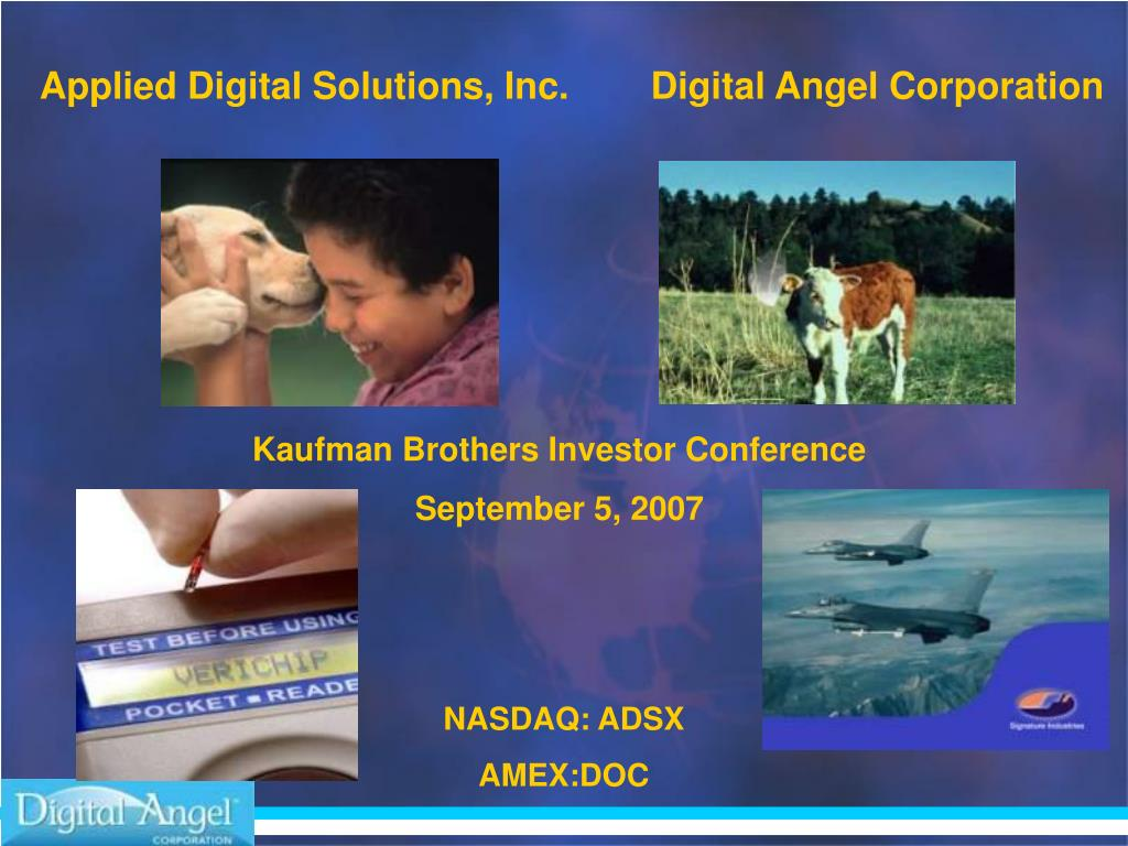 Applied Digital Solutions, Inc.
