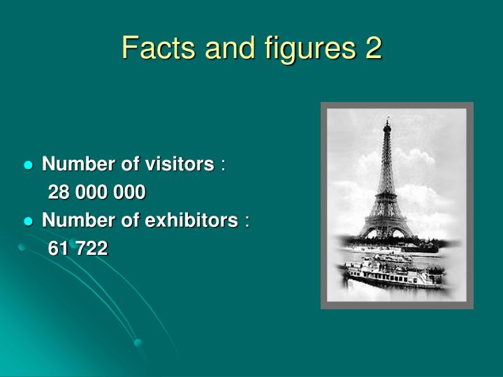 Facts and figures 2