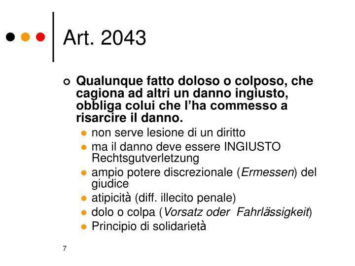 Art. 2043
