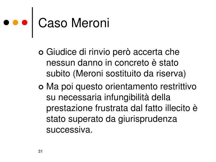 Caso Meroni