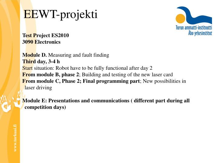 Test Project ES2010