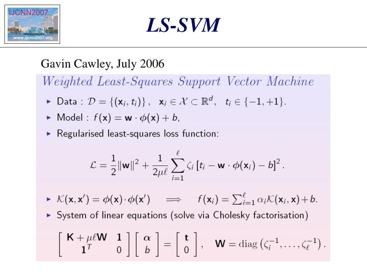 LS-SVM