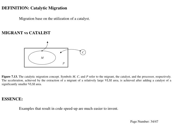 DEFINITION: Catalytic Migration