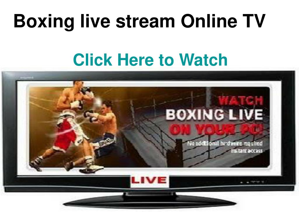Boxing live stream Online TV
