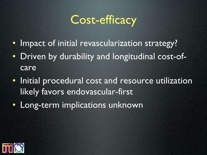Cost-efficacy