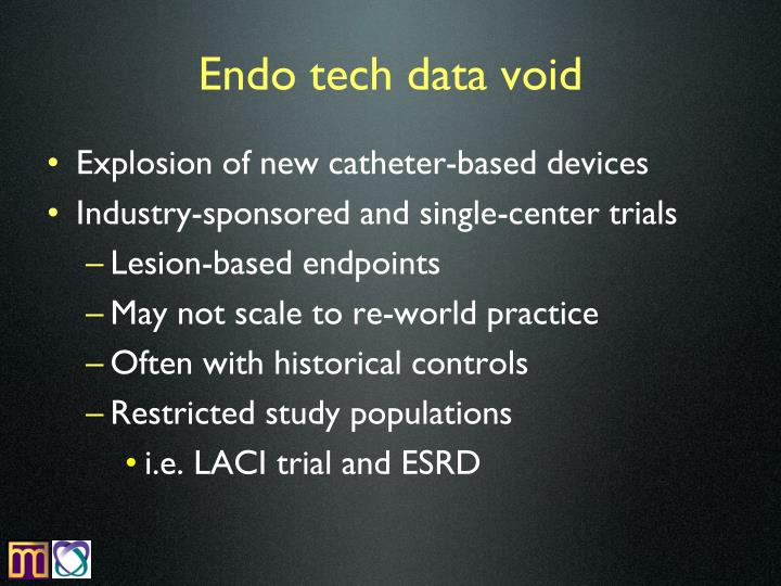 Endo tech data void