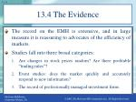 13 4 the evidence