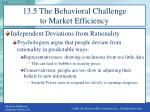 13 5 the behavioral challenge to market efficiency1