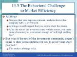 13 5 the behavioral challenge to market efficiency2