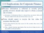 13 8 implications for corporate finance