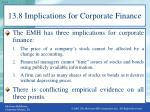 13 8 implications for corporate finance1