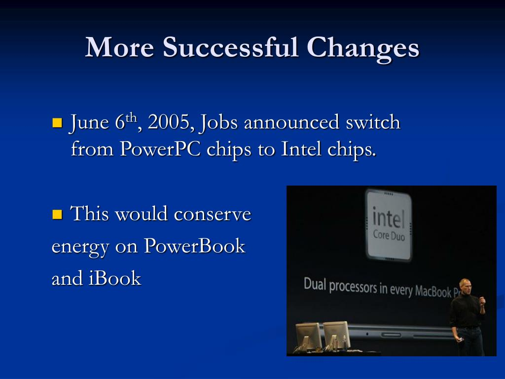 More Successful Changes