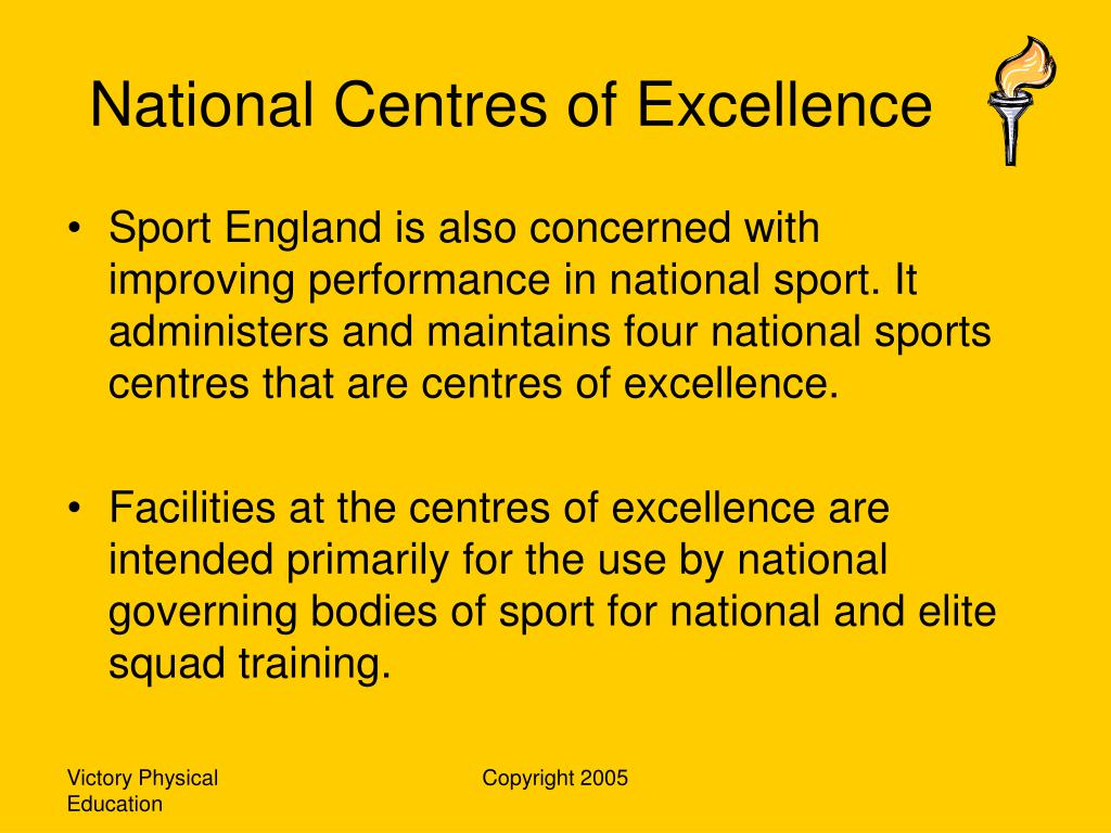 National Centres of Excellence