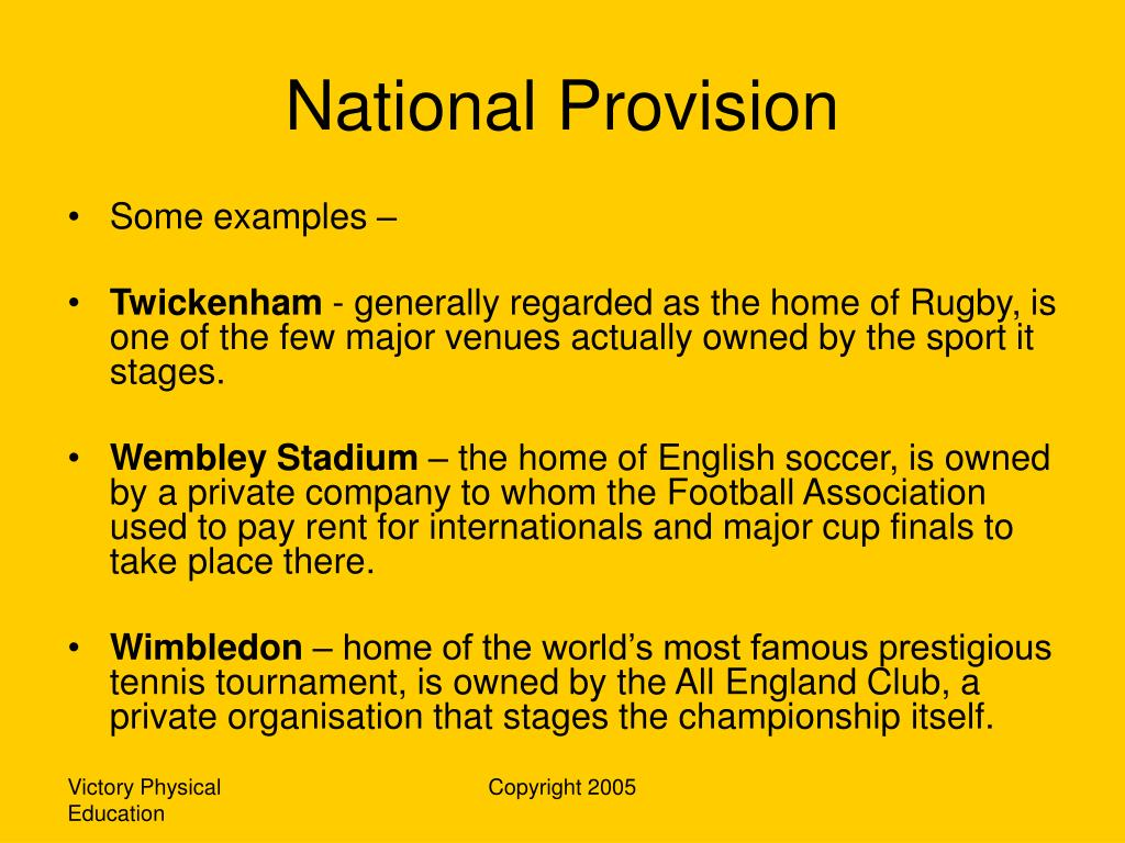 National Provision