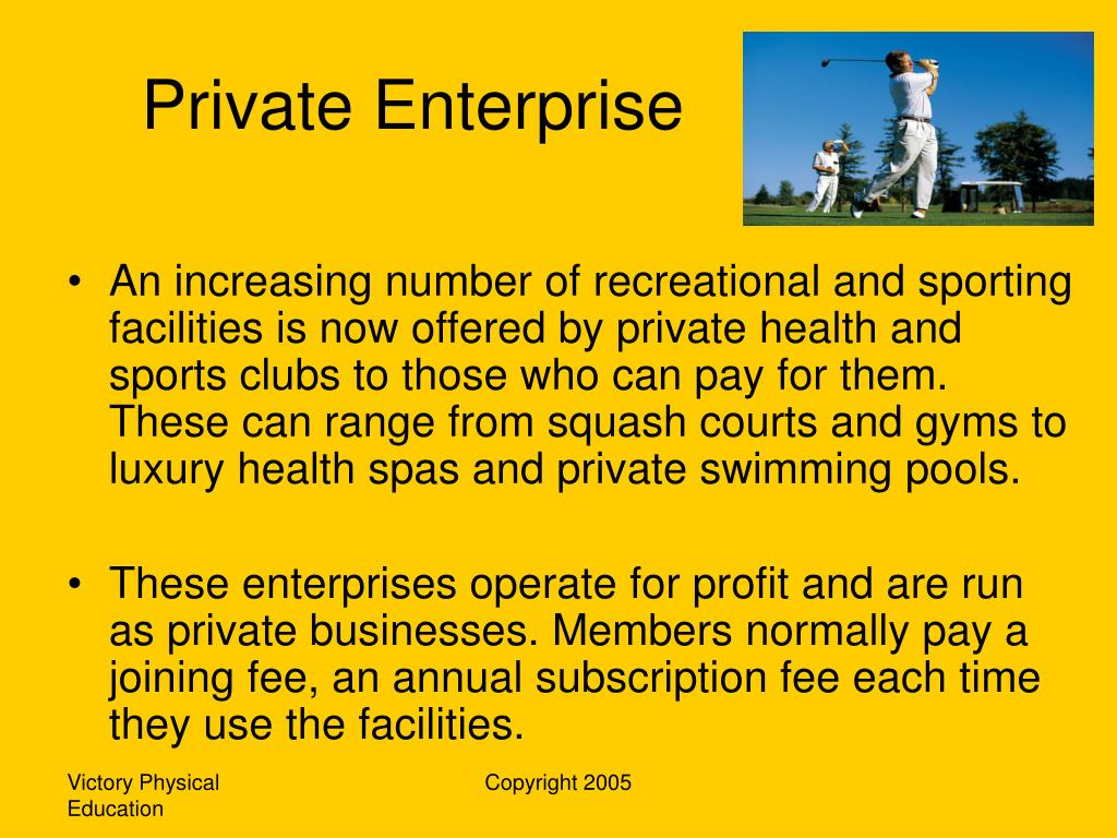Private Enterprise
