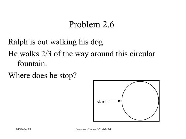 Problem 2.6