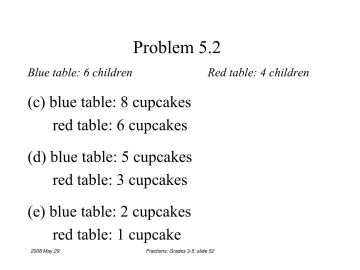 Problem 5.2
