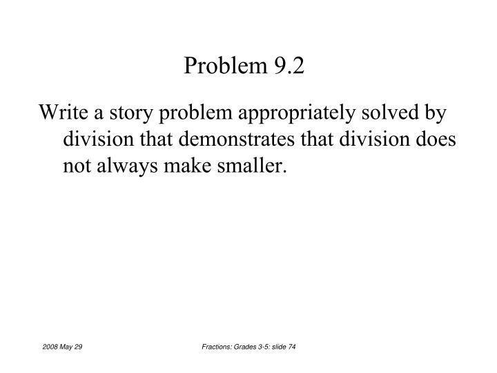 Problem 9.2