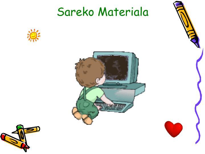Sareko Materiala
