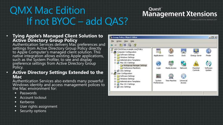QMX Mac Edition