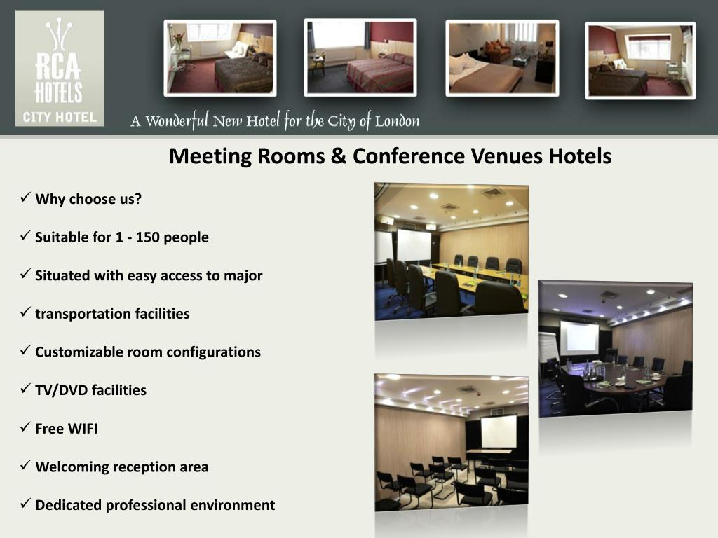 Meeting Rooms & Conference Venues Hotels