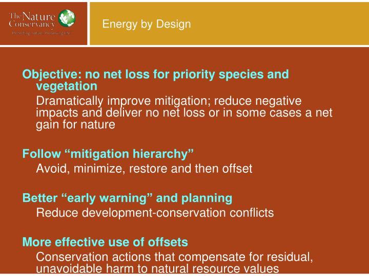 Energy by Design