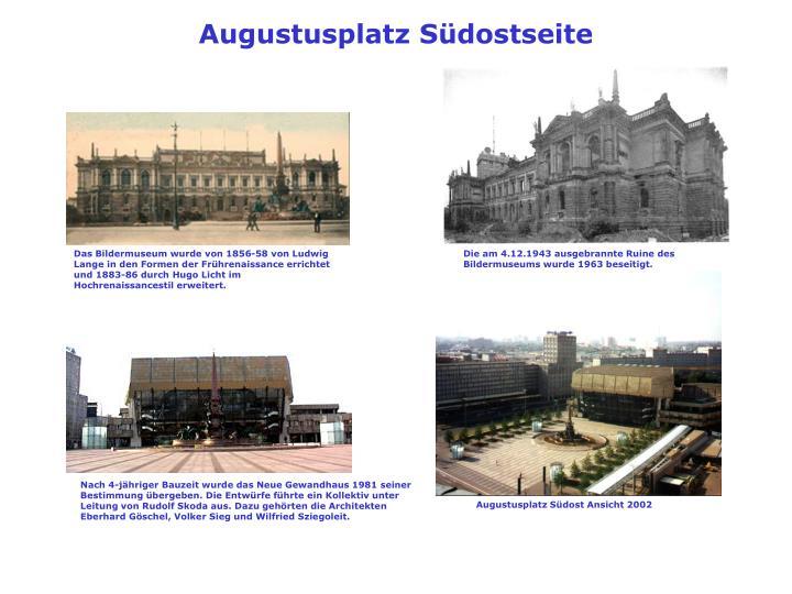 Augustusplatz Südostseite