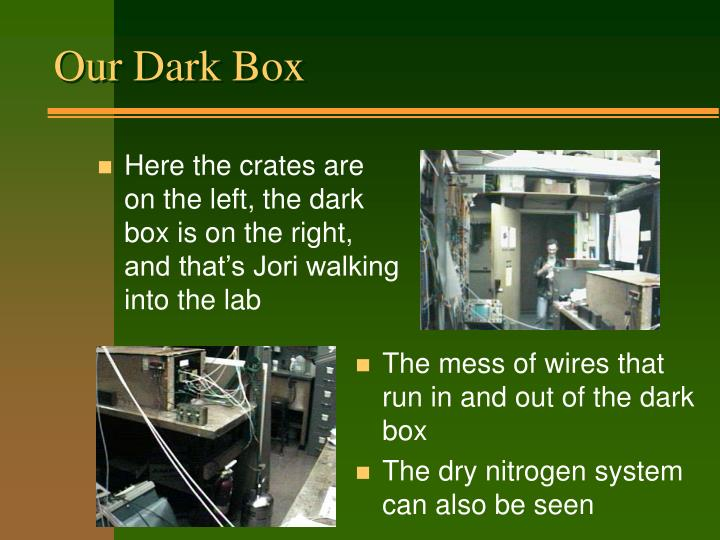 Our Dark Box
