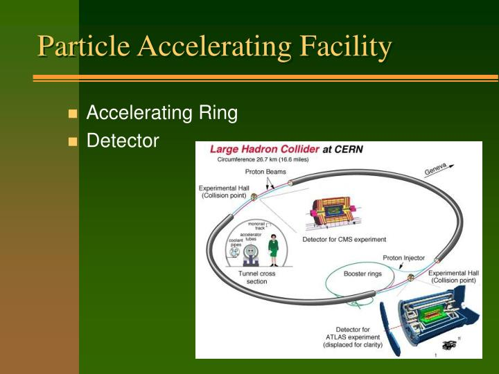Particle Accelerating Facility